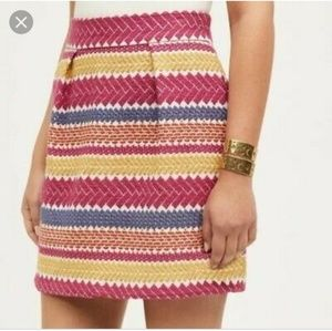 Anthropologie Nomad Morgan Carper Jacquard Skirt